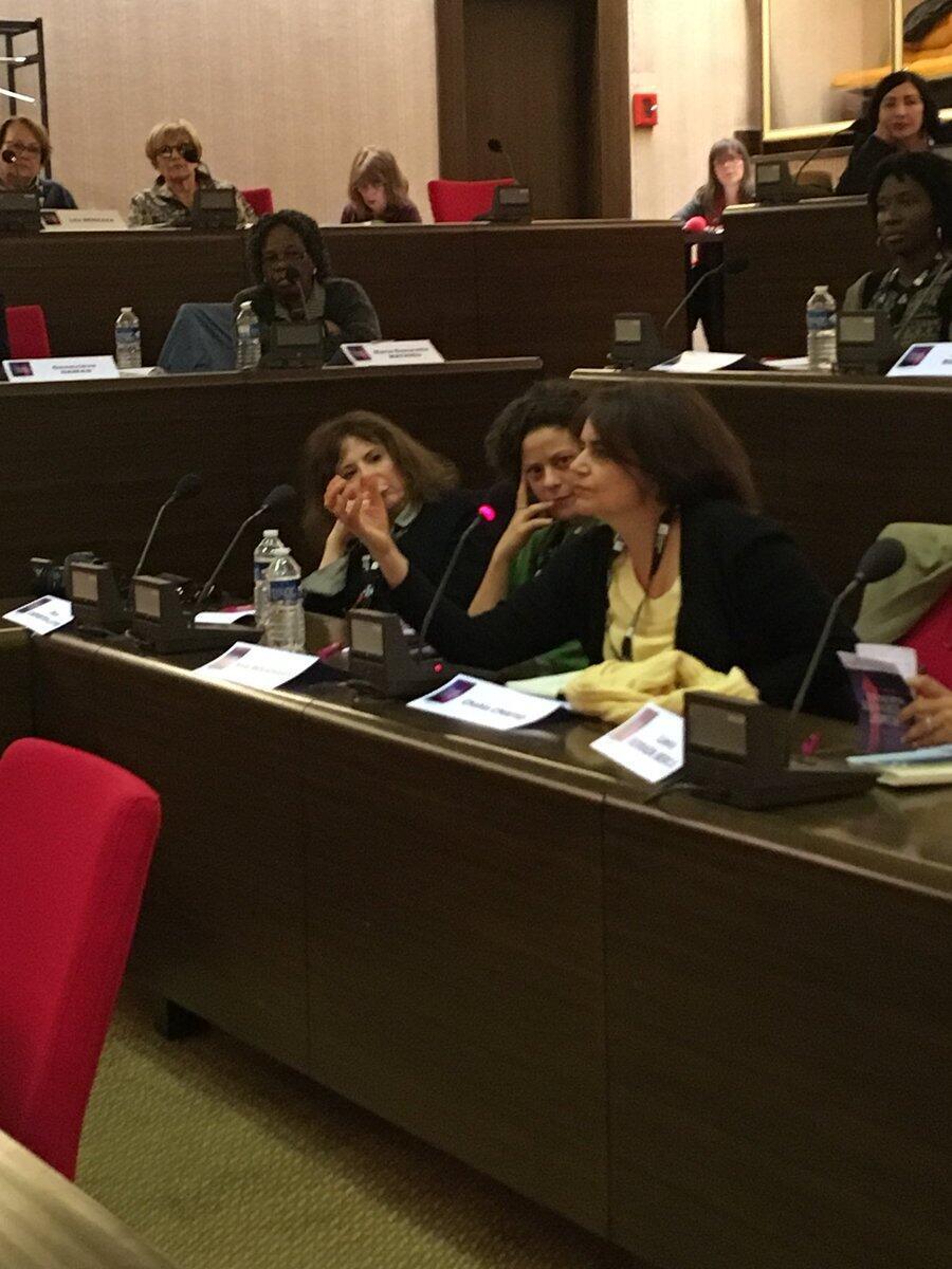 شهلا شفیق در اولین پارلمان نویسندگان زن فرانسویزبان