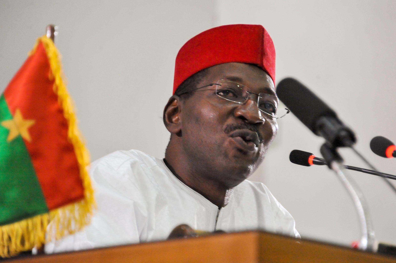 Alassane Bala Sakandé, président de l'Assemblée nationale burkinabè, est devenu dimanche 26 septembre le président du MPP (image d'illustration).