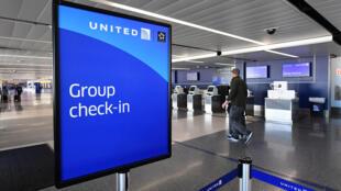 Airport terminals were largely deserted during coronavirus lockdowns