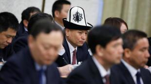Représentant du Xinjiang à la réunion de l'Assemblée nationale populaire à Pékin, le 13 mars 2017.