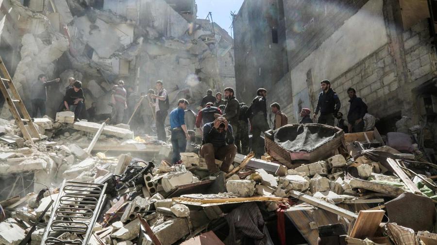.حمله شیمیایی در خان شیخون، که بنابر گزارشها توسط ارتش سوریه انجام شد