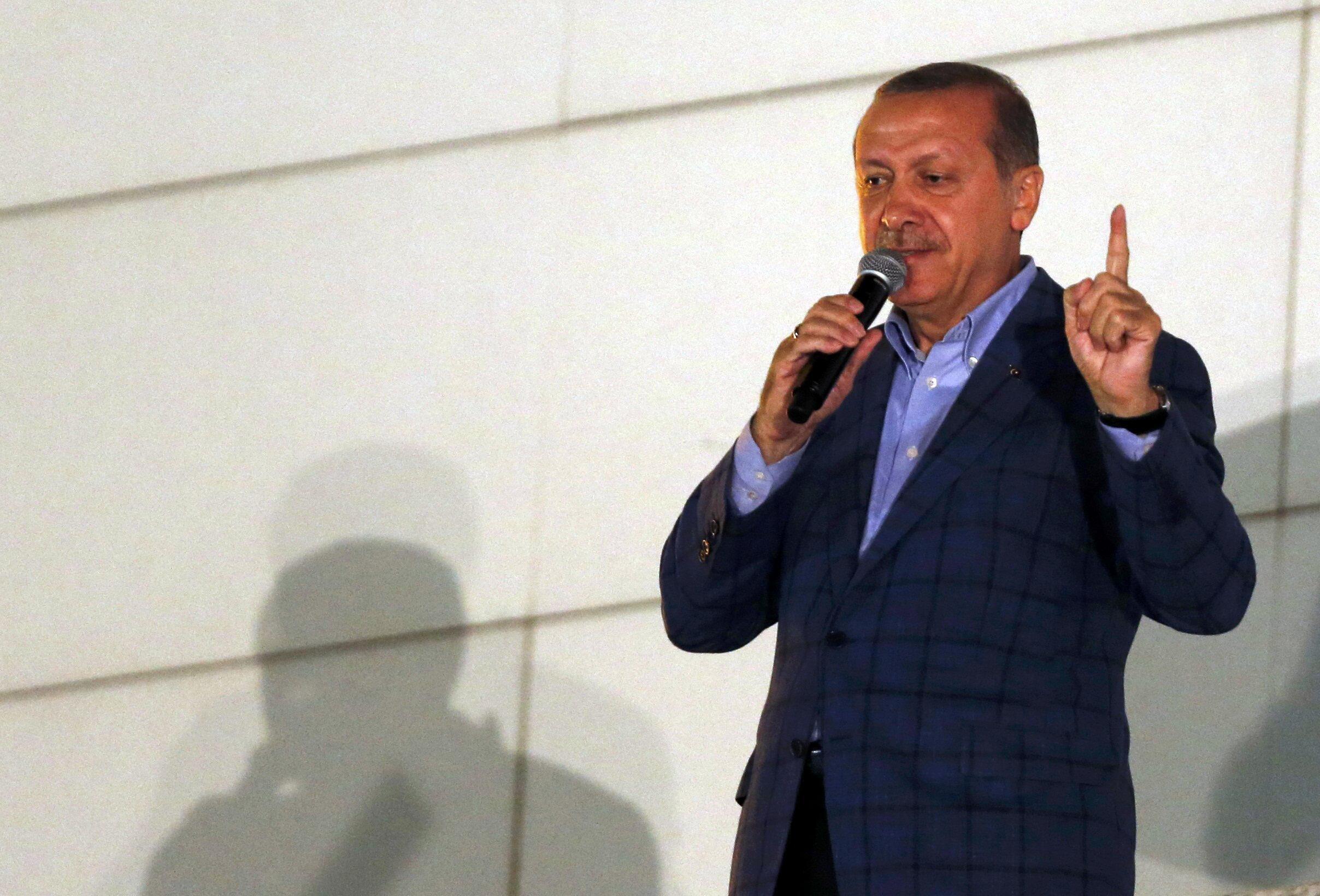 Recep Tayyip Erdogan, 60 ans, nouveau président de la République de Turquie.