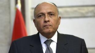 سامح شکری، وزیر امورخارجه مصر