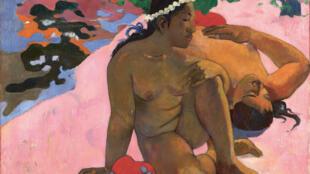"""Paul Gauguin (1848-1903) : """"Ahaoe feii ?"""", 1892."""