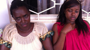 Apolline Mukanyamwasa (left) and her daughter Marie-Claire