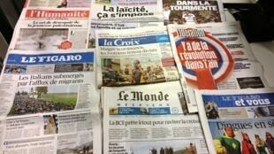 Diários franceses 23/10/2015