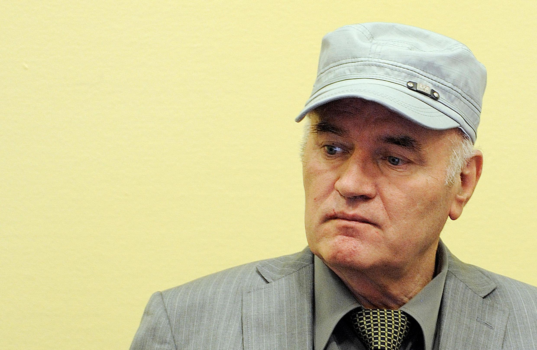 Ratko Mladic devant le TPIY, le 3 juin 2011.