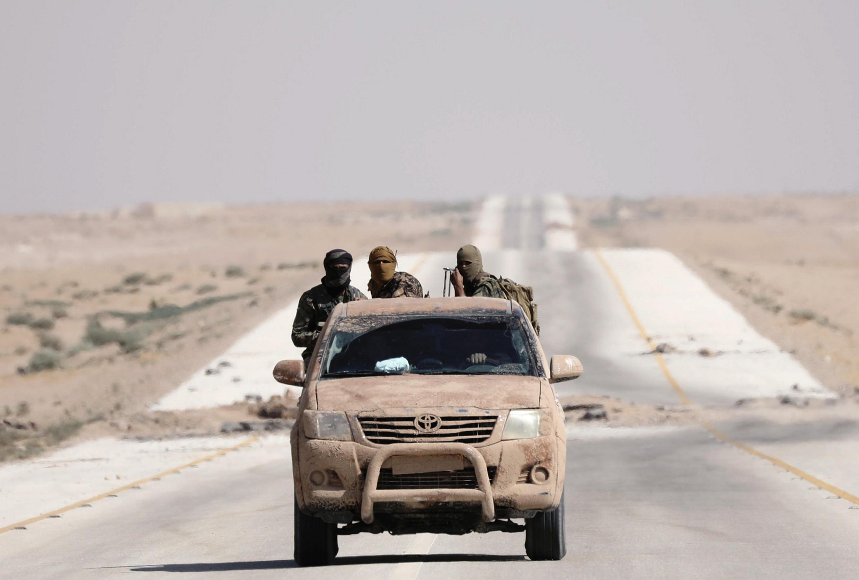 Un véhicule des FDS à l'est de Deir Ezzor, le 12 septembre 2017 (photo d'illustration).