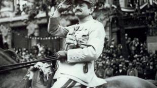 Le général Charles Mangin.