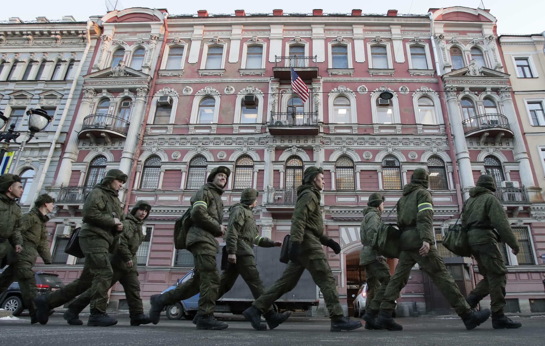 Russie - Consulat américain à St Petersburg AP18090606737495