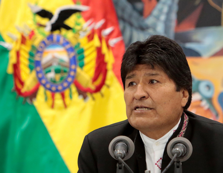 Shugaban Bolivia Evo Morales