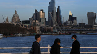 Sun sets on the City. London has been overtaken by Amsterdam as Europe's top share trading hub