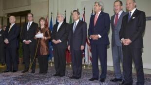 Các trưởng đoàn đàm phán hồ sơ hạt nhân Iran, Geneve, 24/11/2013