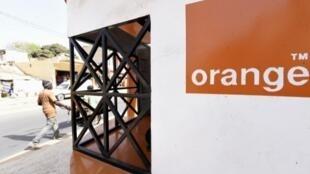 Un bureau Orange à Ouakam, dans la banlieue de Dakar.