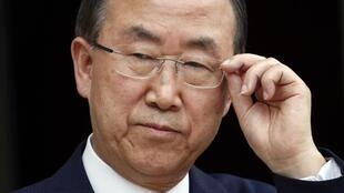 Tổng thư ký Liên Hiệp Quốc Ban Ki Moon - REUTERS /C. Platiau