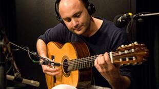 Kevin Seddiki au studio 136.