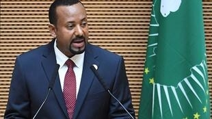 Waziri Mkuu wa Ethiopia Abiy Ahmed.