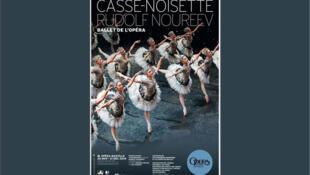 L'affiche du ballet « Casse-Noisette », donné jusqu'au 31 décembre à l'Opéra Bastille à Paris.