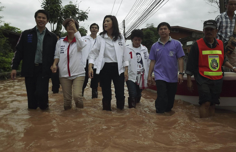 Kiongozi wa Upinzani nchini Thailand Yingluck Shinawatra, anayepewa nafasi ya kushinda uchaguzi huo