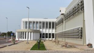 IMAGE Vue de l'hôpital régional Amath Dansokho de Kédougou, Sénégal.