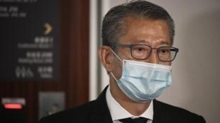 香港財政司司長陳茂波資料圖片