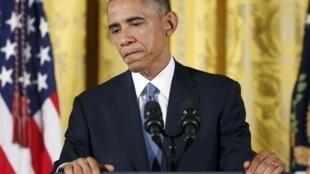 Le 5 novembre, Barack Obama a dit qu'il acceptait la défaite et comprenait le message des Américains qui n'avaient pas voté pour les démocrates lors des élections de mi-mandat.