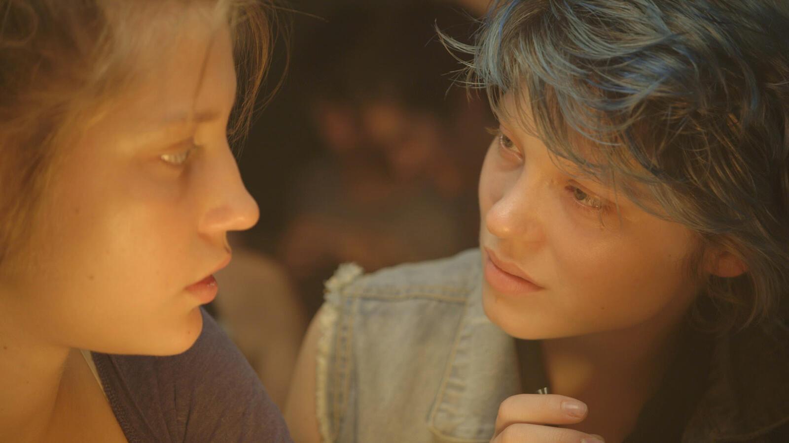 Кадры из фильма «Жизнь Адель»