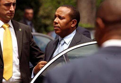 Patrice Trovoada, primeiro ministro de São Tomé e Príncipe.