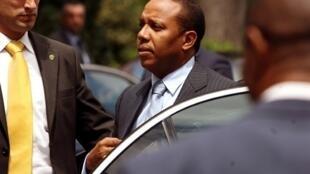 Ex-primeiro Ministro de São Tome, Patrice Trovoada.