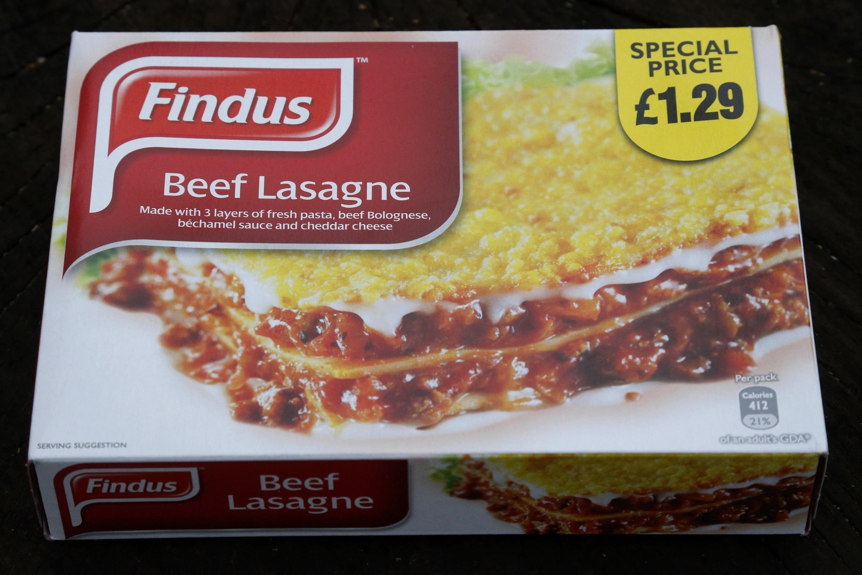 Les lasagnes Findus contenaient parfois jusqu'à 100% de viande de cheval.