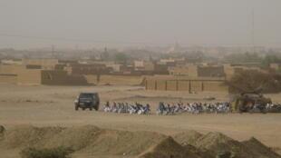 Vue de la ville de Kidal (photo d'illustration).