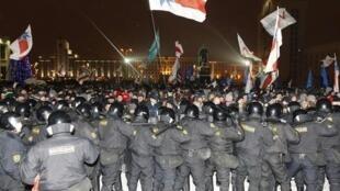 Минск после выборов 19/12/2010 (архив)