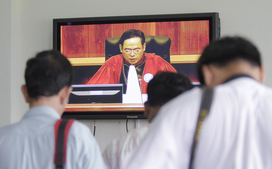 """Tòa án đặc biệt xét xử Khmer Đỏ trước đây đã tuyên án 30 năm tù cho """"đao phủ"""" của trại giam nổi tiếng S-21."""