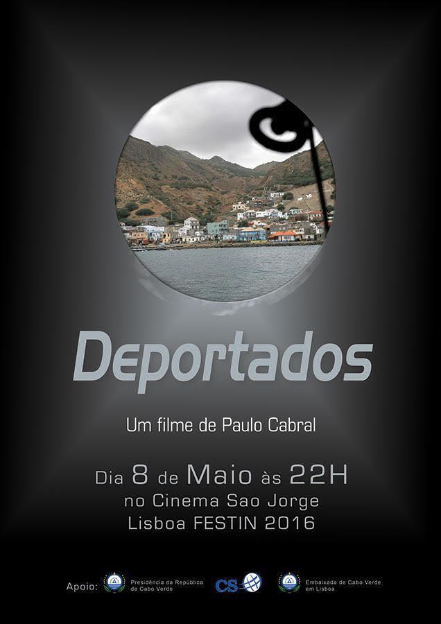 """Cartaz do filme """"Deportados"""""""