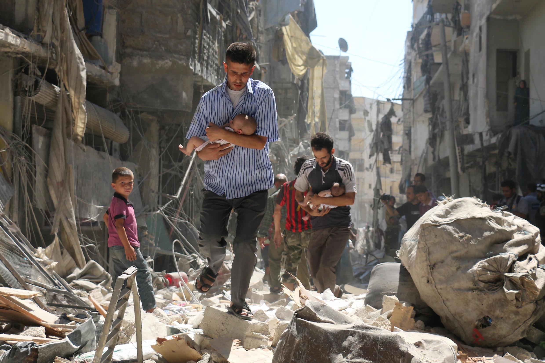 Hofu ya mapigano imetanda jimboni Aleppo na kuisababisha UN kuchelewesha mpango wa uokozi