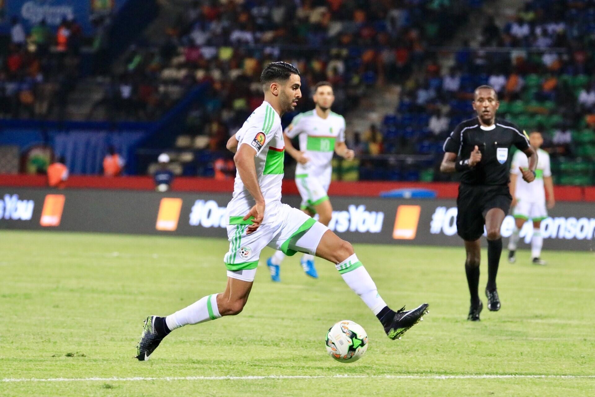 L'international algérien Riyad Mahrez. (Photo d'illustration).