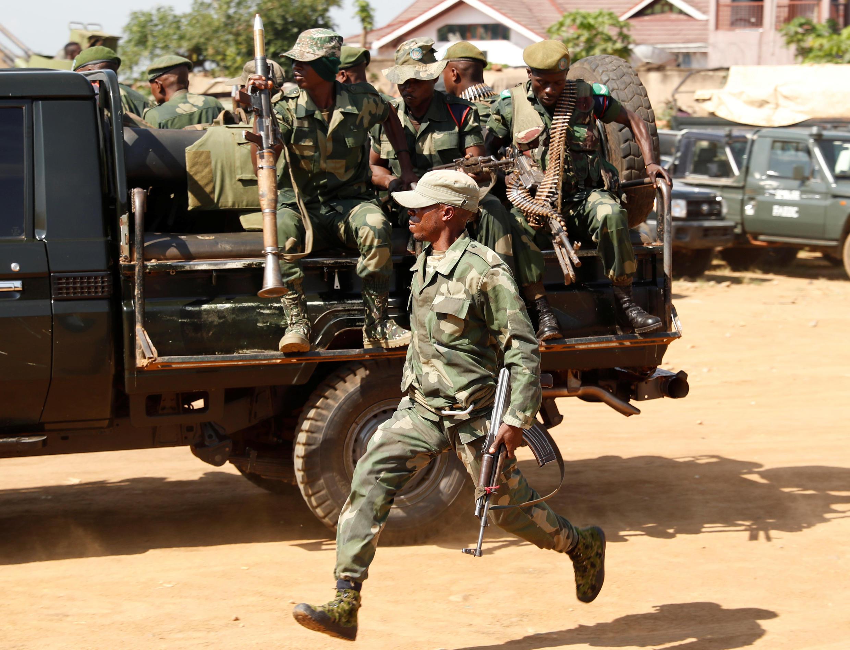 Jeshi ladrc, FARDC, wanaendelea kukabiliana na makundi yenye silaha mashariki mwa nchi hiyo.