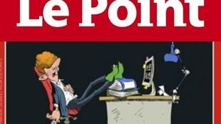 """A suposta """"preguiça"""" dos trabalhadores franceses foi tema da reportagem de capa da revista Le Point."""