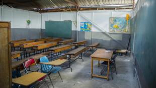Haïti - salle de classe_vide_école-insécurité_enlèvements_AP21111759873510