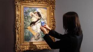 Эдуар Мане «Весна» (1881), Париж (Christie's Auction House in Paris), 22 октября 2014 года
