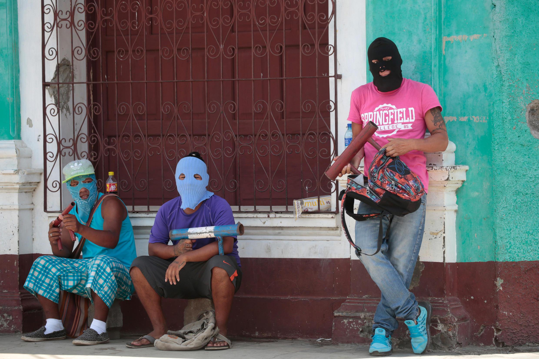 Nicaragua: à Masaya, bastion de l'opposition, le 11 juillet 2018. Le président Ortega a annoncé qu'une marche commémorative de la révolution sandiniste s'y tiendrait vendredi 13 juillet.