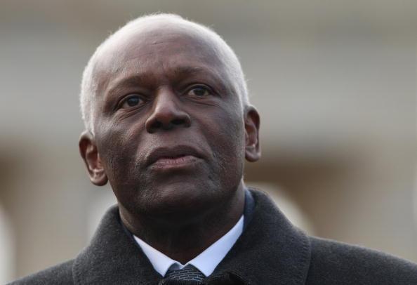 O presidente angolano José Eduardo dos Santos