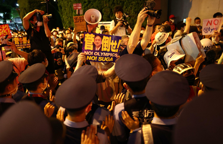 Cérémonie d'ouverture des JO de Tokyo 2020