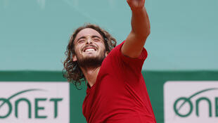 PHOTO Stefanos Tsitsipas à Monte Carlo - 18 avril 2021