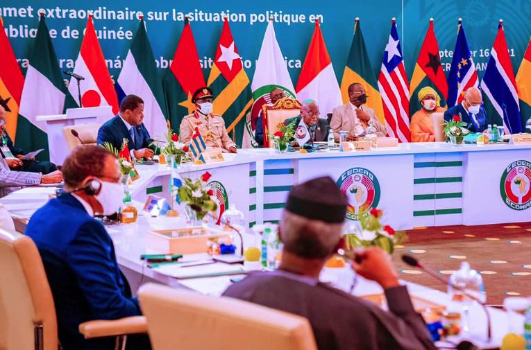 Shugabannin ECOWAS a Ghana