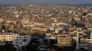 Gaza City, bande de Gaza.