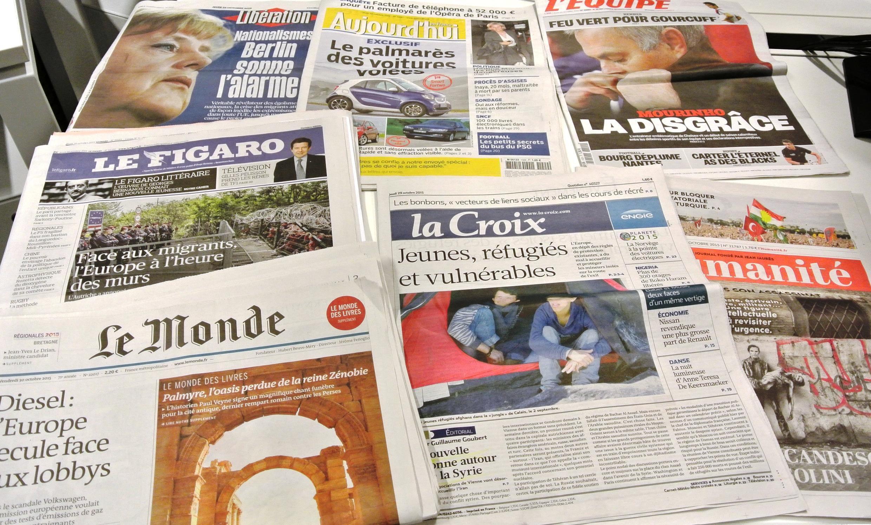 Diários franceses 29/10/2015