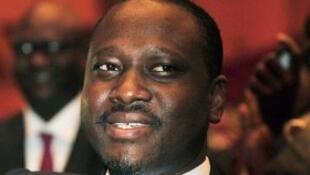Le président de l'Assemblée nationale ivoirienne, Guillaume Soro, ici le 12 mars 2012 à Yamoussoukro.