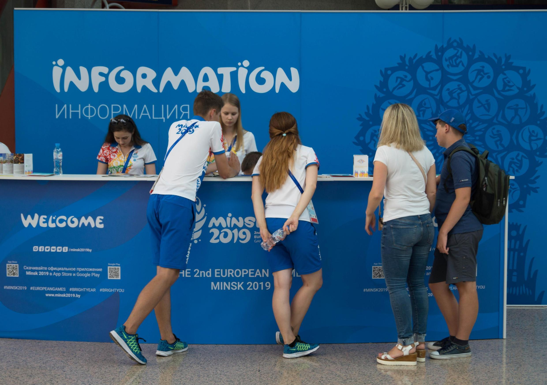 На Европейских играх работают 8000 волонтеров