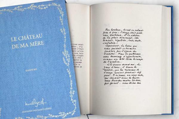Le manuscrit du roman de Marcel Pagnol